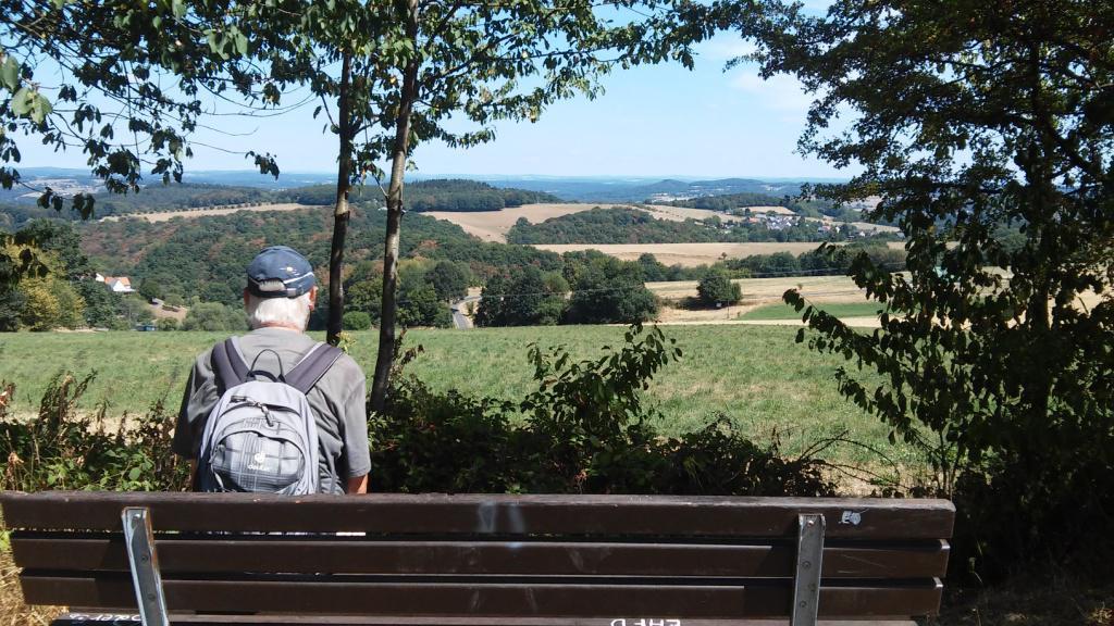 Augustwanderung Zum blauen See im Westerwald